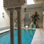 Wellnessbereich mit Hammam, Sauna und Massage