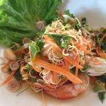 Lemon Grass Prawn Salad