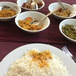 Deviled Chicken cury and Rice Rs200