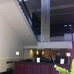 La réception et le lobby