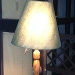 Lamp inside room