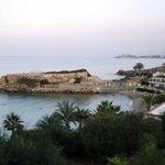 Blick auf Denizkizi-Badestrand