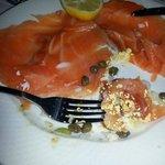 Smoked Salmon plate