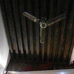 le plafons de la chambre, magnifique