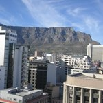 Excellent view of Table mountain from Top floor