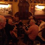 Thursday night trad. session in Bill Chawkes.