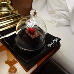 комплимент от отеля перед сном