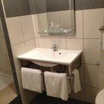 salle de bain moderne et agréable