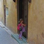 At the door to the Dar Bensouda