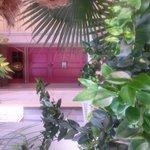 Front door, Bordello Room #1