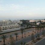 Uitzicht op de promenade