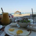 shake, salad, and sea