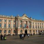Piazza del Municipio a Tolosa