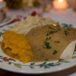 Turkey dinner- delicious!