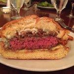 Bleu Chz w/ Caramelized Onion Burger