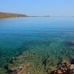 Дикий пляж Колокита (полуостров Спиналонга).