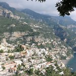 view taken on our tour of the Amalfi Coast