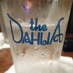 Water glass at the Dahlia!