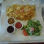 Biryani aux crevettes