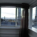 180 degree view of Dublin from our room