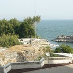 Scenery overlooking the sea of galilee