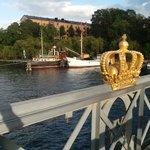 Vista dal ponte che porta a Skeppsholmen