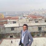 Aykut overlooking Istanbul