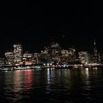 San Francisco at night (view from the ferry)