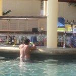 Swim up bar!