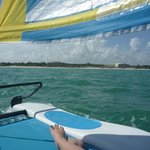 View from the Hobie cat!