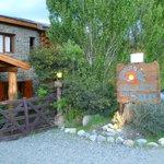 Acceso a las cabañas y restaurante Quidú