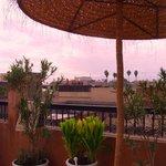 Vue de la terrasse  (Annexe les Orangers d'Alilia)
