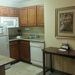 Room 210 - Kitchen area