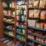 Snacks Bar at Front Desk area