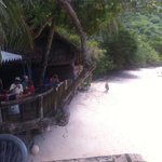 Beach at Tisa's..Pago Pago