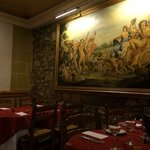 Paintings at Ciao Roma restaurant