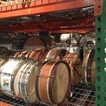 Vintage drums galore