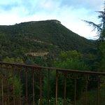 vue de la mignonne petite terrasse