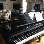 fab piano in lounge