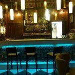 The elegant cocktail bar