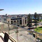 amazing views from our top floor apartment