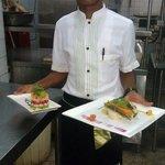 Nice food from Bandari Grill kitchen.