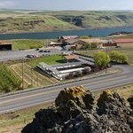 Looking over Maryhill Winery