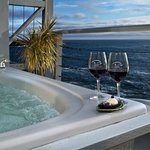 Enjoy your private Jacuzzi on the deck