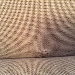 ripped chair