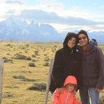 Entrada do parque nacional de Torres del Paine - Patagônia