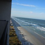 View from balcony left/Daytona Beach