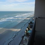 View from balcony right/Daytona Beach Shores