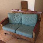 Standar of furniture, very uncomfortable