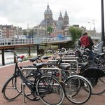 bicycle parking near Centraal Station and Ibis Hotel